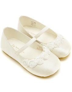 Flower girls shoes - Bella&-39-s 1st Holy Communion - Pinterest ...