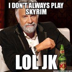 LOL Skyrim moment
