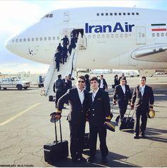Iran air cabin crew