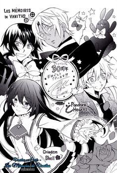 Illustration by Jun Mochizuki, for the anniversary of Animate! Vanitas no carte Crimson shell Pandora hearts Manga Anime, Anime Oc, Pandora Bracelets, Pandora Jewelry, D Gray Man Anime, Pandora Hearts Oz, Manga Box Sets, Vampires, Fanart