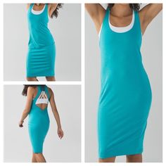 Lululemon Go For It Dress, NWT, size 8.  $88 (MD for $30 at outlet).  High-stretch Vitasea