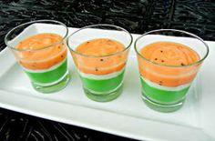 Watermelon Pudding Cups...yum, tastes like summer!