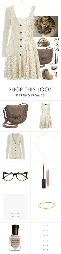 """Untitled #4130"" by somethinglikelove ❤ liked on Polyvore featuring SONOMA Goods for Life, Reneeze, Wouters & Hendrix Gold, Ace, Burberry, Gabriela Artigas, Jennifer Meyer Jewelry, Deborah Lippmann and Forever 21"