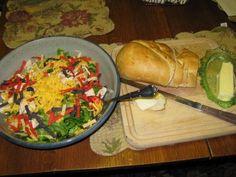 Bernideen's Tea Time Blog: Restaurant Salads at Home