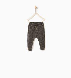 Leaves leggings-TROUSERS-Baby boy-Baby | 3 months - 3 years-KIDS | ZARA United States