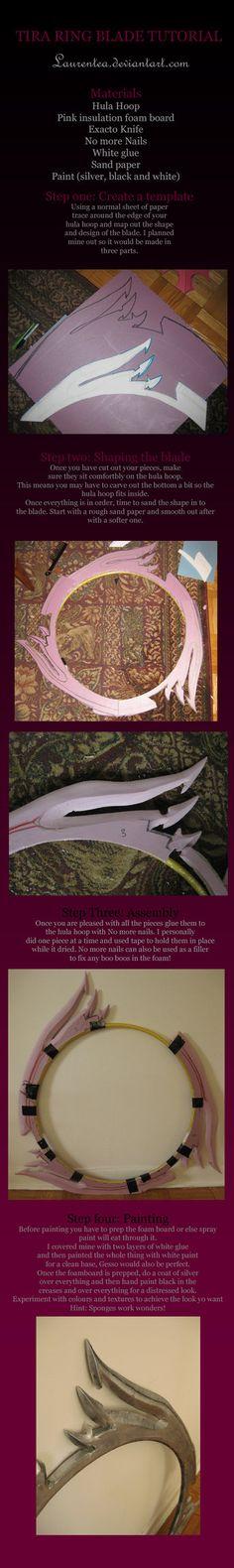 Tira soul caliber Ring blade tutorial