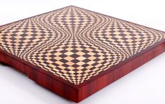 Butterfly end grain cutting board
