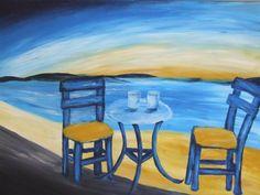 החוף הכחול, תיק עבודות ציור, ציורים, ציירים - יצירות אומנות ישראלית מוריה עיצובים. תיקי עבודות אמנים ישראלים - אמנות ישראלית