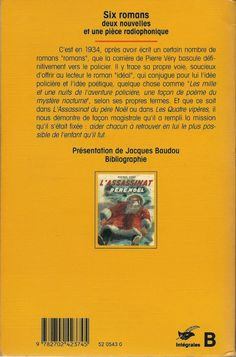 Les Intégrales du Masque - Pierre Véry - Volume 2 - Verso - Janvier 1994