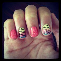 My fancy nails :) woho