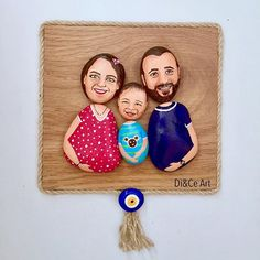 presents for your family, art by familypresents Pebble Painting, Pebble Art, Stone Painting, Stone Crafts, Rock Crafts, Art N Craft, Diy Art, Fall Drawings, Pebble Pictures
