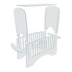 Lindam slot together cot: Baby Furniture, Furniture Styles, Unique Furniture, Furniture Design, Cnc Wood, Doll Beds, Cardboard Furniture, Cot Bedding, Wood Toys