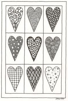 'Zen Hearts' by Zoe Ford
