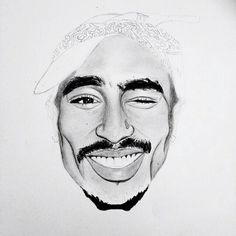 Tupac Shakur with Aliyah, Eazy E, Rick Ross Sweatshirts Black Women Art, Black Art, Tupac Art, Shading Drawing, Gangsta Tattoos, Face Sketch, Smart Art, Chicano Art, Tupac Shakur
