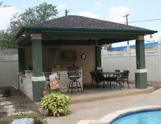 Ideas Outdoor Kitchen In Contemporary Covered Patio Also Small Swimming  Pool Design Trends Outdoor Covered Patio Ideas For Home