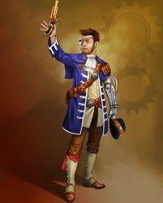 Steampunk Characters - James Mosingo
