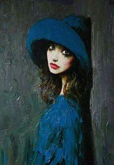 by Taras Loboda, Ukrainian painter...he was born in 1961 in Ivano-Frankovsk, Ukraine, in the family of a prominent Ukrainian artist