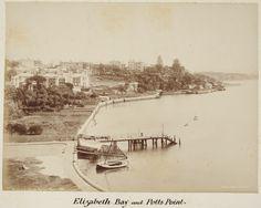 Elizabeth Bay and Potts Point area of Sydney (Photo undated). v@e