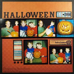 Halloween 1998  *Quick Quotes* - Scrapbook.com