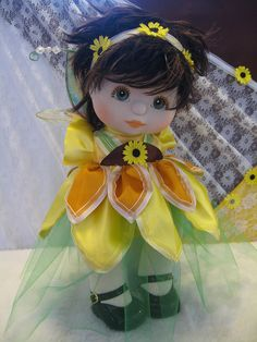 Mattel My Child Doll Sunflower Fairy