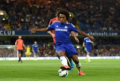 Willian on the ball