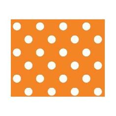 SheetWorld Fitted Crib / Toddler Sheet - Primary Polka Dots Orange Woven - Made In USA