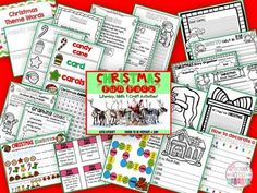 CHRISTMAS FUN PACK {LITERACY, WRITING, MATH & CRAFT} - TeachersPayTeachers.com