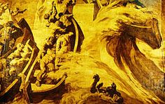 Stock Image of Basque Mural, Josep Maria Sert - DK Images
