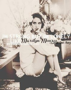 ..like Marilyn monroe <3