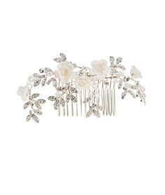 Pronovias presents its T20-2572 bridal headpiece. | Pronovias