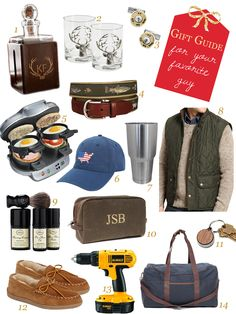 Gift Guide for Your Favorite Guy