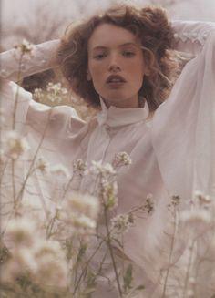 Mona Johannesson by Oscar Falk in Elle Sweden