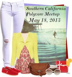 """Southern California Polyvore Meetup"" by rachel ❤ liked on Polyvore"