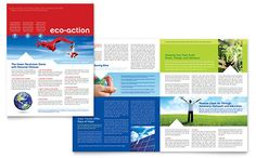 newsletter design, layout
