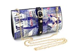 wholesale magazine printing purse with strap  ,lybags@gmail.com
