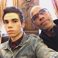 Cam and dad Victor Boyce, Cameron Boyce Descendants, Cameron Boys, Dove Cameron Style, Disney Channel Stars, Disney Xd, Child Actors, Now And Forever, Cute Guys