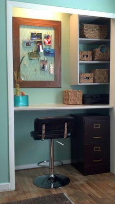 closet office desk. Closet Office Desk