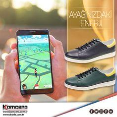 Komcero'nun şık ve rahat tasarımlarıyla Pokemon avında yorulmak yok!  #Komcero #ayakkabı #trend #fashion #moda #AyağınızdakiEnerji #pokemon