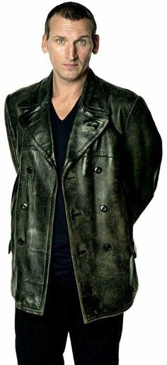 Get Hollywood Star Christopher Eccleston TV Series Doctor Who Episode 21 Black leather Coat now ready for sale at our online store. Doctor Who 9, Doctor Who Quotes, First Doctor, Eleventh Doctor, Good Doctor, Doctor Who Costumes, Doctor Who Companions, Best Marriage Advice, Christopher Eccleston