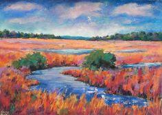 soft pastels,kreide,landschaft,landscape,