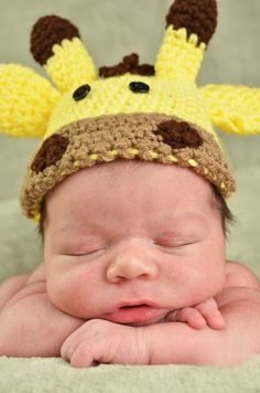giraffe hat...How freaking cute!