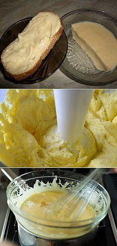 Домашний плавленный сыр из творога.