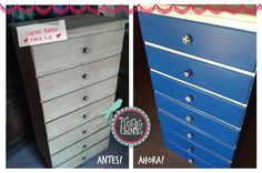 Dresser, Facebook, Furniture, Home Decor, Greek Blue, Chinese Flowers, Blue Nails, White People, Drawer Pulls