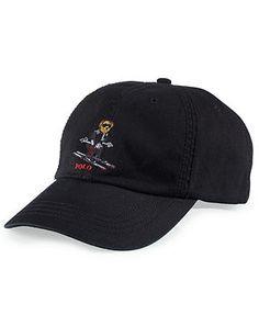 b2cb773e Polo Ralph Lauren Hat, Chino Polo Bear Baseball Cap & Reviews - Hats,  Gloves & Scarves - Men - Macy's