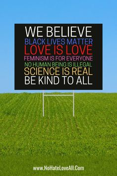 We Believe black lives matter. Love is love. Feminism is for everyone. No human is illegal. Science is real. BE KIND TO ALL Container Herb Garden, Recycling Containers, Homestead Gardens, Growing Gardens, Corrugated Plastic, Raised Garden Beds, For Everyone, Cozy House, Feminism