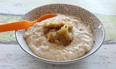 Grießbrei many parents know even from their childhood. The semolina pudding wit… Grießbrei kennen viele Eltern schon aus ihrer Kindheit. Crock Pot Recipes, Baby Food Recipes, Diet And Nutrition, Semolina Pudding, Childrens Meals, Supper Recipes, Evening Meals, Toddler Meals, Different Recipes