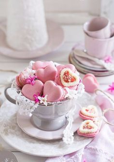 These adorable heart-shaped macarons are the perfect way to celebrate Valentine's Day  Source: www.gabytaangeles.tumblr.com