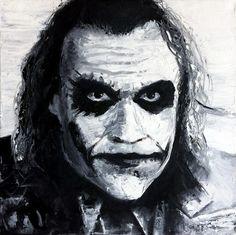 Obrazy na prodej Joker, Painting, Fictional Characters, Art, Painting Art, Paintings, Kunst, Paint, Draw