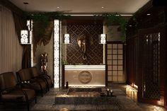 thai massage spa design - Google Search