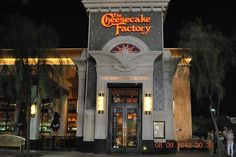 Probably our favorite restaurant period, especially when travelling. We've been fortunate enough to visit the following locations (some multiple times) : Seattle, Bellevue, Palm Springs, San Francisco, Corte Madera, Anaheim and Honolulu. When we look to travel we almost search by Cheesecake Factory locations available.